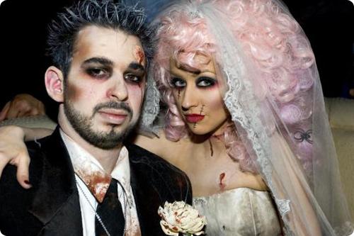 Костюм на хэллоуин мертвая невеста